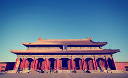 The Majestic Forbidden City in Beijing China Stock Photography