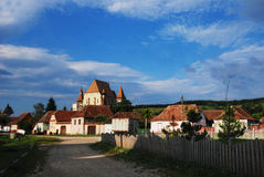 Fortified chuch in Biertan, Transylvania, Romania Royalty Free Stock Photography