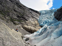 Majestic glacier Royalty Free Stock Image