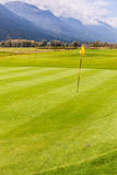 Majestic golf course view Stock Photography