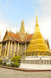 The majestic Grand Palace in Bangkok. Or Wat Phra Keaw Stock Photography