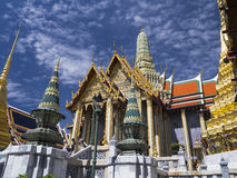 The majestic Grand Palace in Bangkok Stock Images