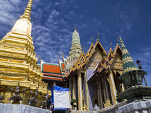 The majestic Grand Palace in Bangkok Stock Photo