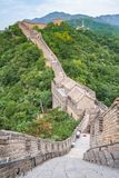 The majestic Great Wall, Beijing, China. The majestic Great Wall, Beijing, Famous landmark great wall and mountains. China Stock Photography