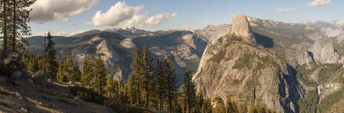 Yosemite Half Dome Peak Stock Photo