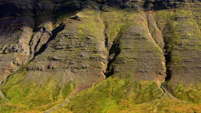 The majestic Icelandic cliffs Stock Images