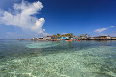 The Majestic Island of Semporna Stock Photos