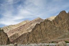 Majestic jagged Himalayan mountains Royalty Free Stock Photos