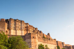 Majestic Jodhpur. Mehrangarh Fort in Jodhpur, Rajasthan, India Stock Images