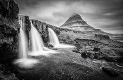 Majestic Kirkjufell. Photo taken of the majestic Kirkjufell in Iceland during springtime Stock Image