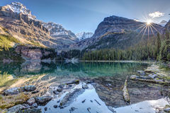 Majestic Lake O`Hara Royalty Free Stock Photo