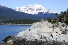 Majestic Landscape. Near Skagway town, Alaska Royalty Free Stock Photo