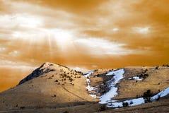 Majestic landscape royalty free stock photo