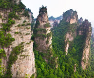 Majestic landscape, Zhangjiajie China Stock Images