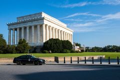 The majestic Lincoln Memorial, Washington D.C, royalty free stock images