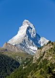 The majestic Matterhorn Royalty Free Stock Photo