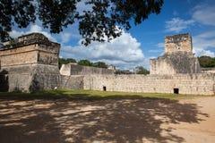 Majestic Mayan ruins in Chichen Itza,Mexico. Majestic ruins in Chichen Itza,Mexico.Chichen Itza is a complex of Mayan ruins on Mexicos Yucatan Peninsula. A Stock Photos
