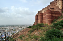 Majestic Mehrangarh fort Royalty Free Stock Photo