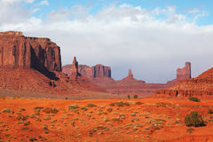 The majestic Monument Valley Royalty Free Stock Images