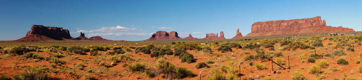 Majestic Monument Valley Royalty Free Stock Photos