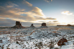 The majestic Monument Valley Stock Images