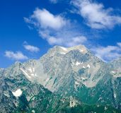 Majestic  mountain Royalty Free Stock Photography
