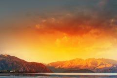 Majestic mountain lake Royalty Free Stock Image