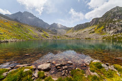 Majestic mountain lake in Turkey Royalty Free Stock Image