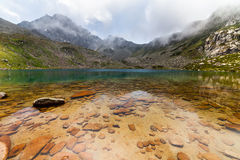 Majestic mountain lake in Turkey Stock Photos