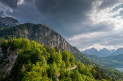 Majestic mountain landscape Royalty Free Stock Photo