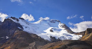 Majestic mountain landscape, glaciers Stock Photos