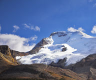 Majestic mountain landscape and glaciers Stock Photography