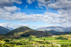 Majestic mountain landscape Royalty Free Stock Images