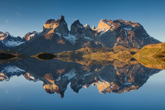 Free Majestic Mountain Landscape. Reflection Of Mountains Royalty Free Stock Photography - 66694537
