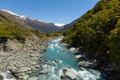 Majestic mountain and stream landscape Royalty Free Stock Photo