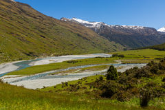 Majestic mountain and stream landscape Royalty Free Stock Photos