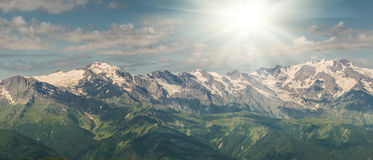 Majestic mountains Royalty Free Stock Image