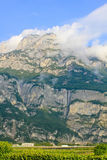 Majestic mountains Italy Stock Images