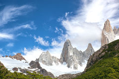 Majestic mountains landscape Stock Image