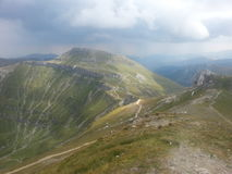 Majestic mountains landscape Stock Image