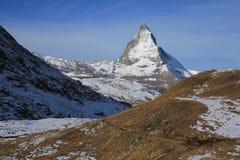 Majestic Mt Matterhorn Stock Images