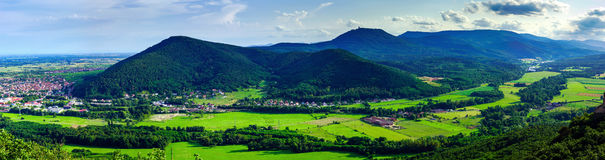 Free Majestic Overview To The Beautiful Valley From The Top Of The Hi Stock Images - 75218054