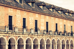 Majestic palace of Aranjuez in Madrid, Spain. Europe Royalty Free Stock Image