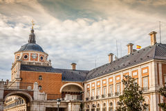 Majestic palace of Aranjuez in Madrid, Spain Royalty Free Stock Photo