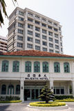 Majestic Palace Hotel in Malacca Stock Photos
