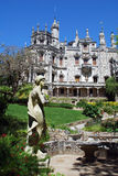 Majestic palace Regaleira(Sintra,Portugal) stock images