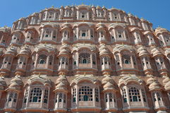 Majestic palace of winds, India Royalty Free Stock Images