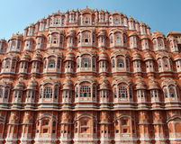 Majestic palace of winds, India Royalty Free Stock Photos