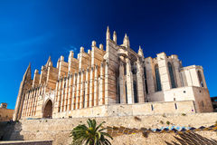 The majestic Palma Cathedral Royalty Free Stock Photo