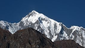 Majestic peak of the Annapurna Range, Stock Photography